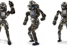 Robot altas google boston dynamics