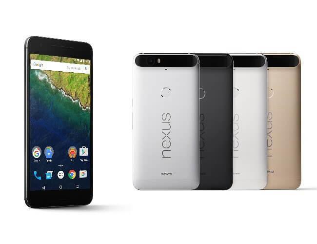 colores Nexus 6P