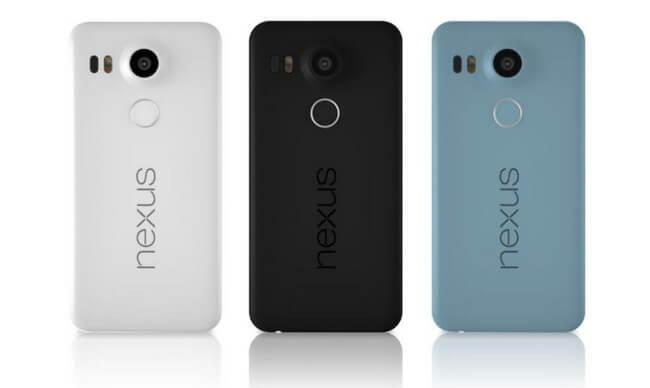 colores nexus 5X