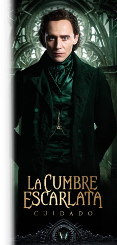 tom hiddleston en la cumbre escarlata - Crimson Peak