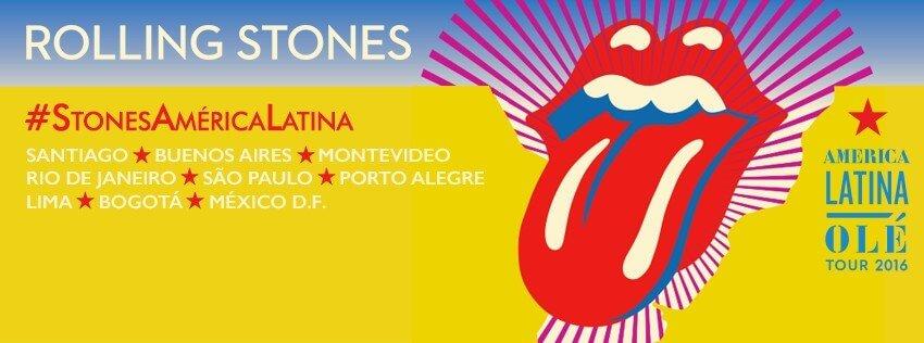 Concierto venta de boletos para The Rolling Stones Mexico