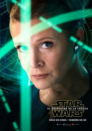 Carrie Fisher - Leia - Star Wars The Force Awakens