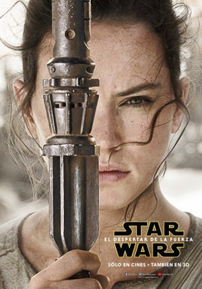 Daisy Ridley - Rey Star Wars The Force Awakens