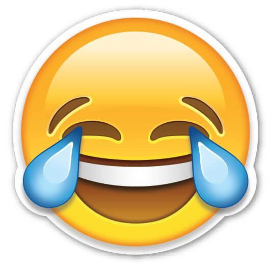 Emoji lágrimas y risa palabra del año 2015