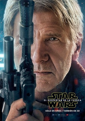 Harrison Ford - Han Solo Star Wars The Force Awakens