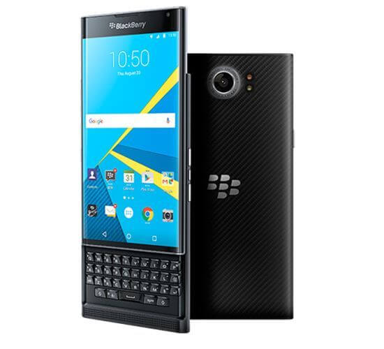 blackberry priv ya en venta