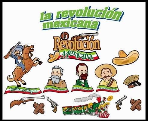 heroes de la revolución mexicana 20 de noviembre