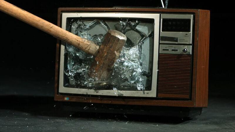 nadie ve televisión obsoleta
