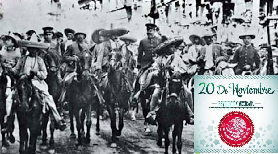 ¿qué se celebra el 20 de noviembre? La revolución mexicana