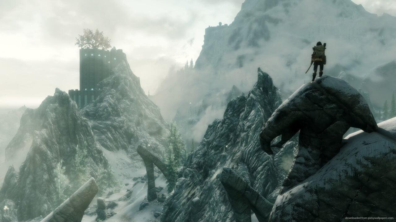 Paseo por skyrim The Elder Scrolls V