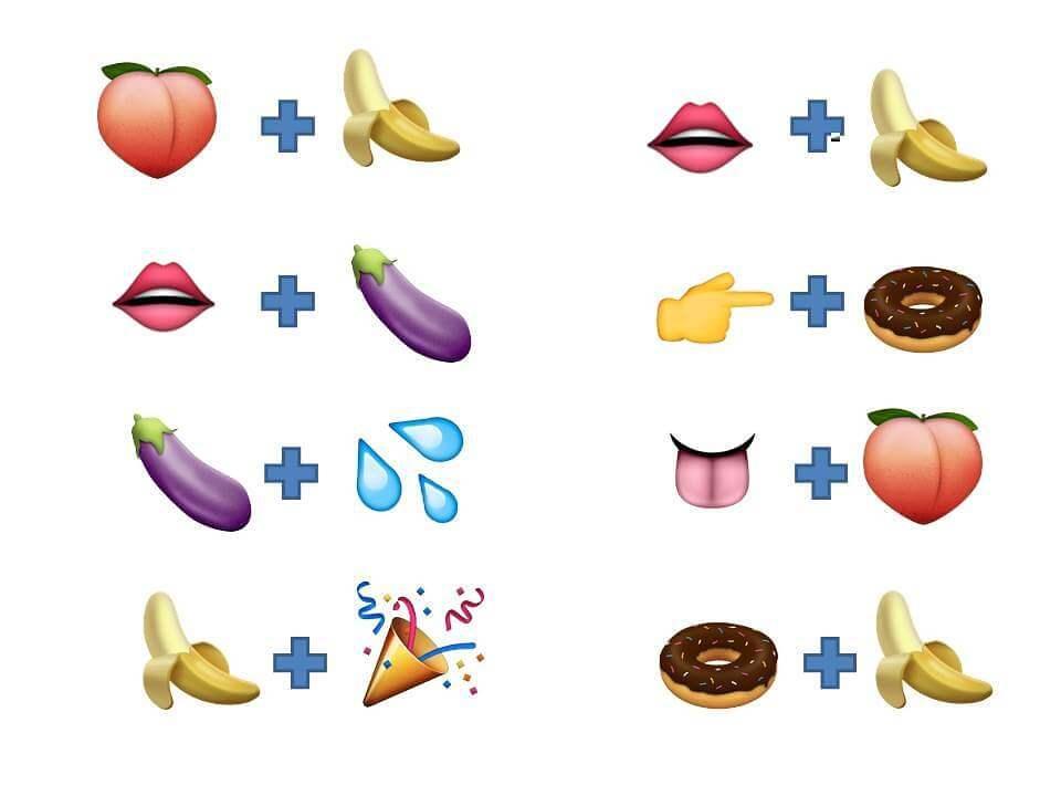 Combinaciones de emojis