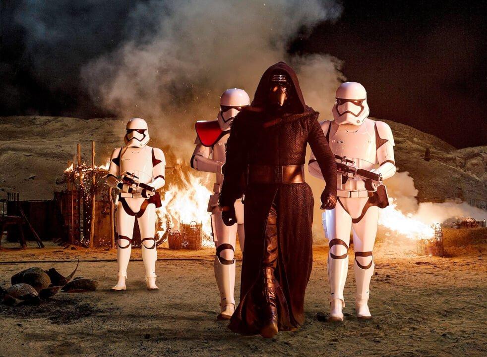 ¿Es el malo de star wars?