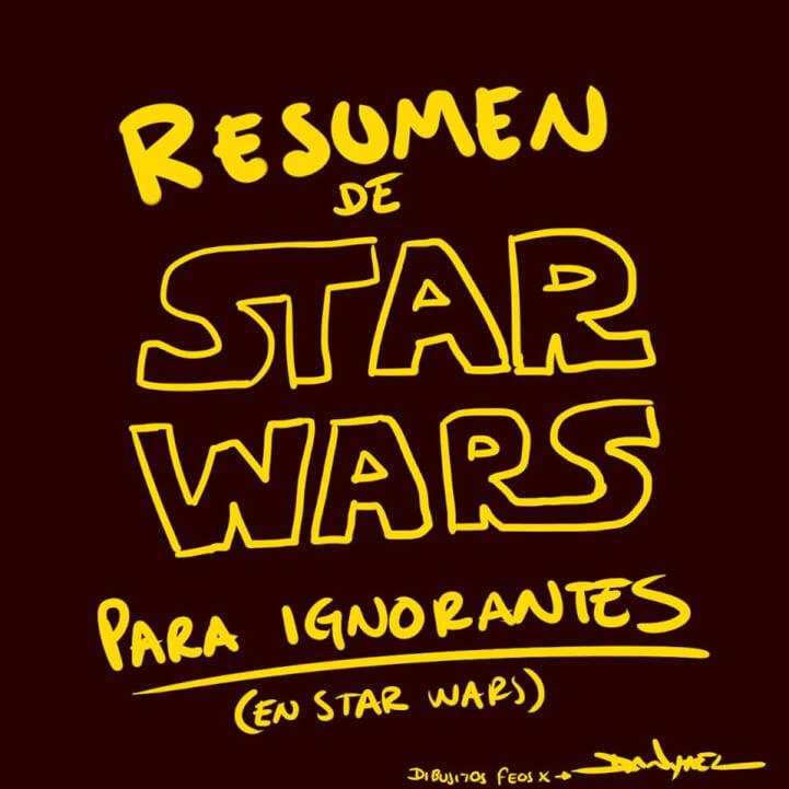 resumen de star wars episiodios 1 al 7