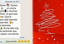 cadenas navideñas para whatsapp