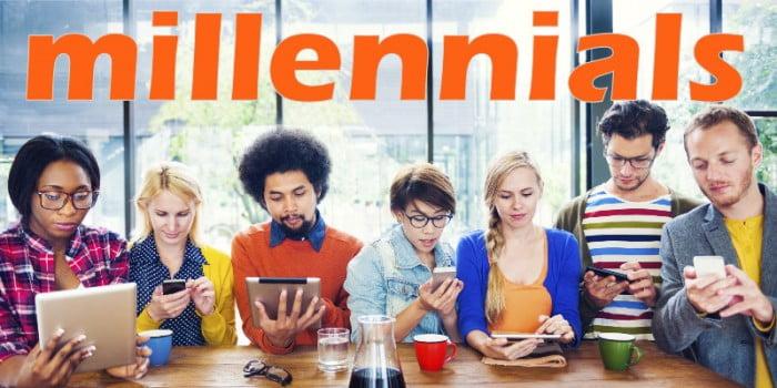 cómo son los millennials