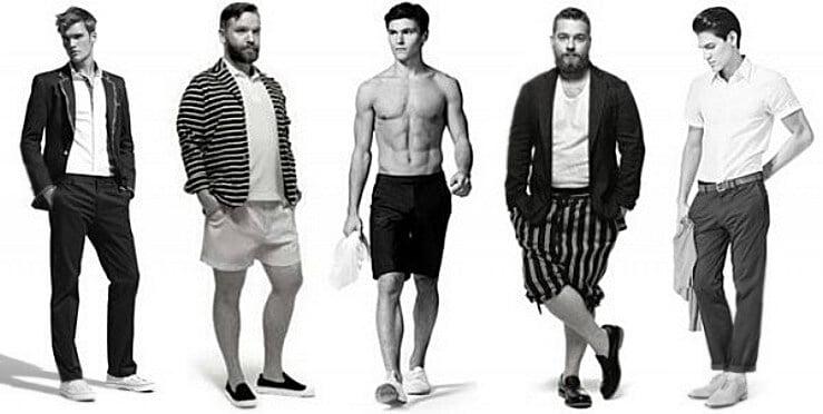 diferentes tipos de hombres