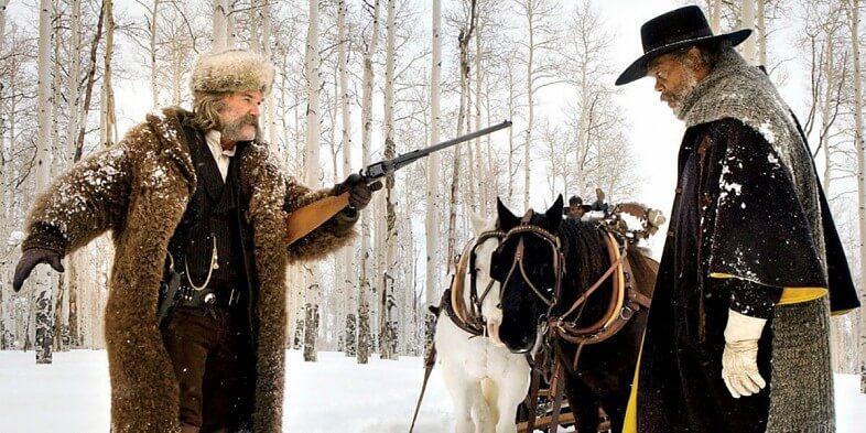 Reseña película hateful-eight-kurt-russell-samuel-l-jackson