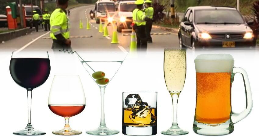 reten policial y multas por conducir con alcohol