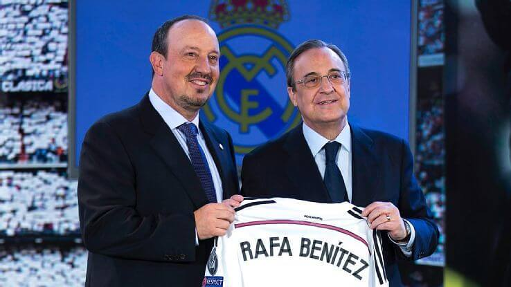 Benítez Real Madrid