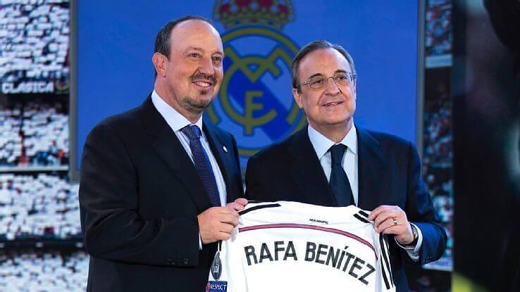 Benítez Real Madrid