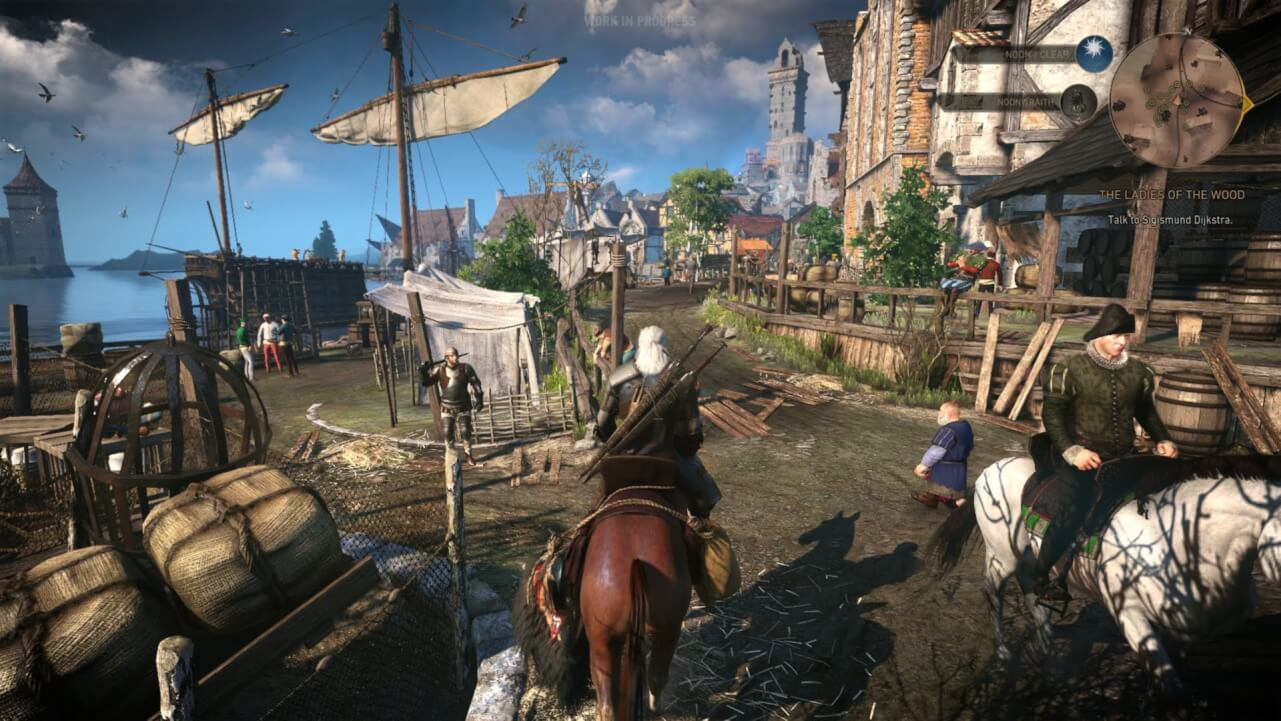 Impresionante mundo The Witcher 3