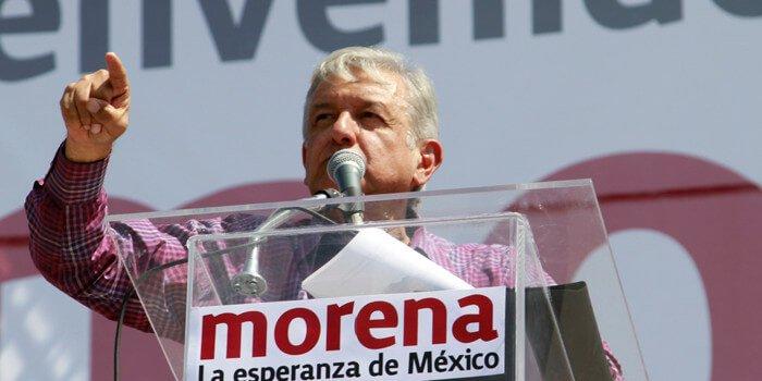 Manuel lopez obrador Morena México 2018