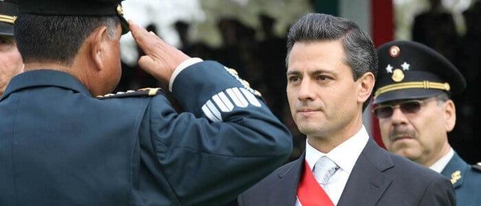 enrique peña nieto y ejercito mexicano