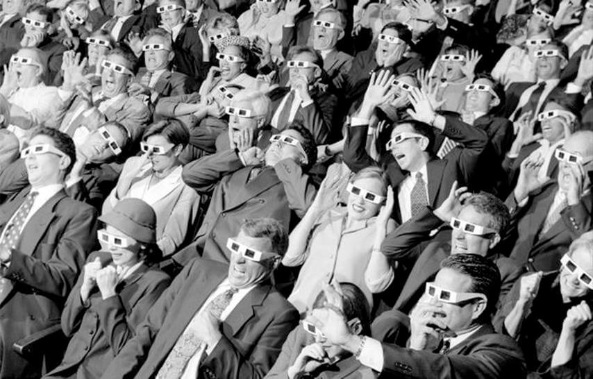 La evolución del cine en 3D