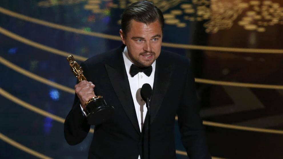 Leonardo Dicaprio por fin ganó un Oscar