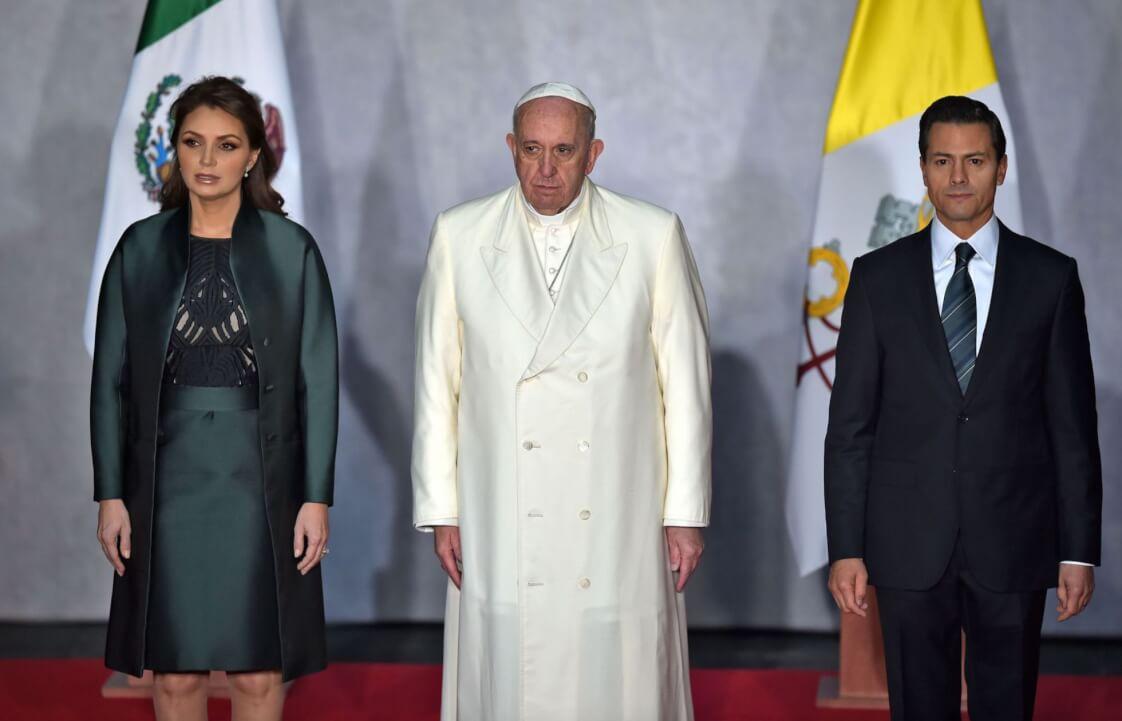 Angélica Rivera Papa Francisco y peña nieto