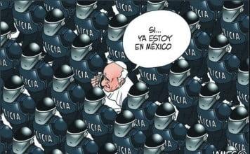 papa bergoglio policias mexico