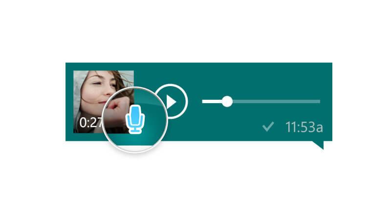 usar mensajes de audio en whatsapp