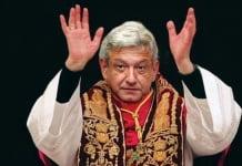 Andres manuel lopez AMLO dios de méxico