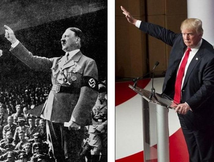 TRUMP es igual a Hitler
