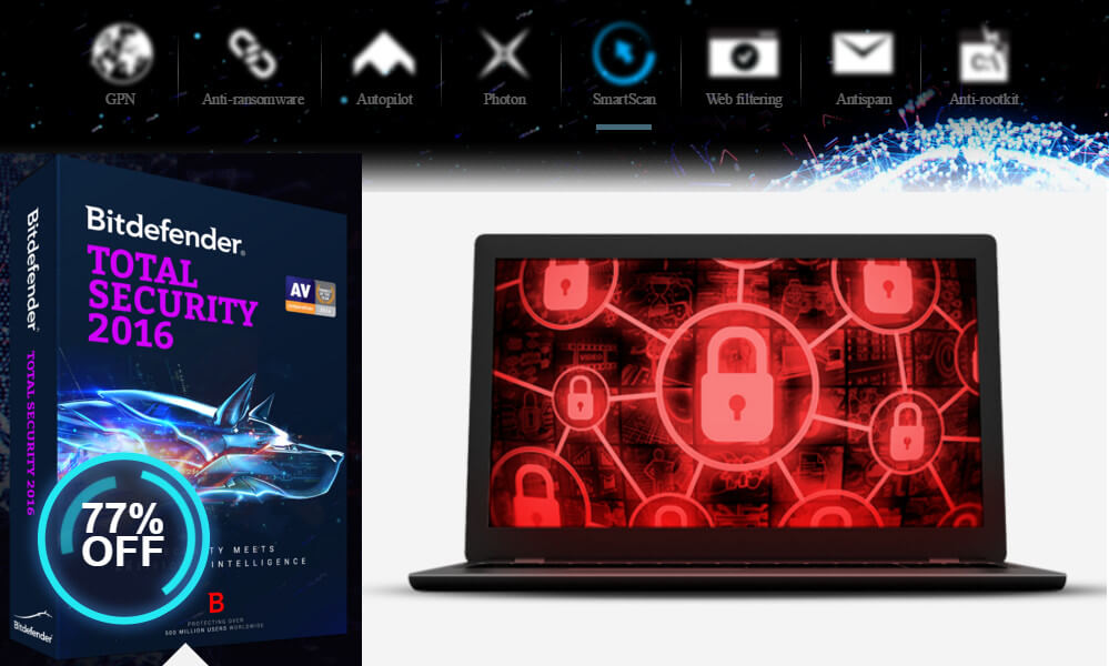 bitdefender descuento internet total security