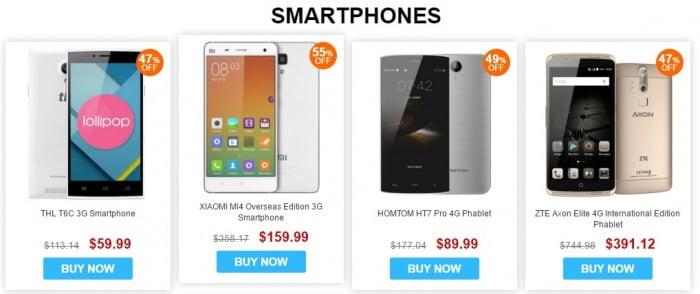 celulares gearbest baratos