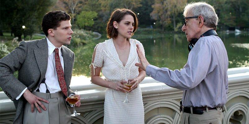 'Cafe Society' Jesse Eisenberg, Kristen Stewart, Woody Allen