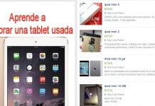 como comprar una tablet usada de segunda mano