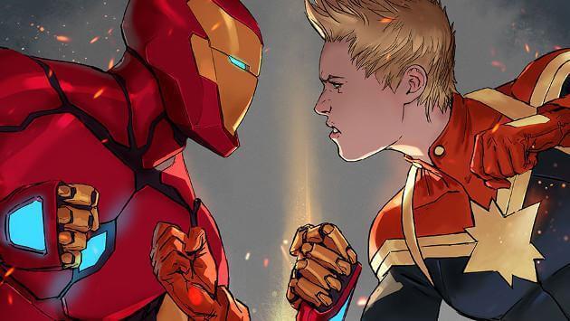 Civil war 2, en los comics