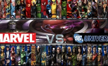 Marvel universe VS Dc comics