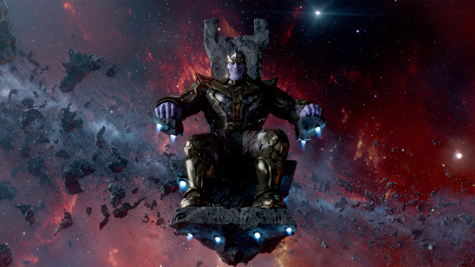Avangers infinity War Thanos