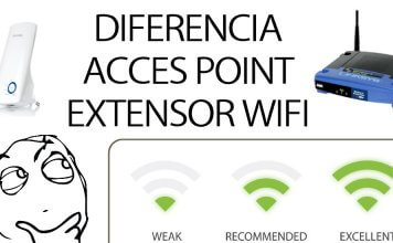 diferencia acces point extensor wifi