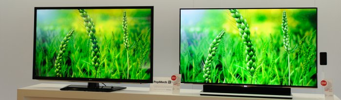 diferencia tv LED vs OLED o AMOLED