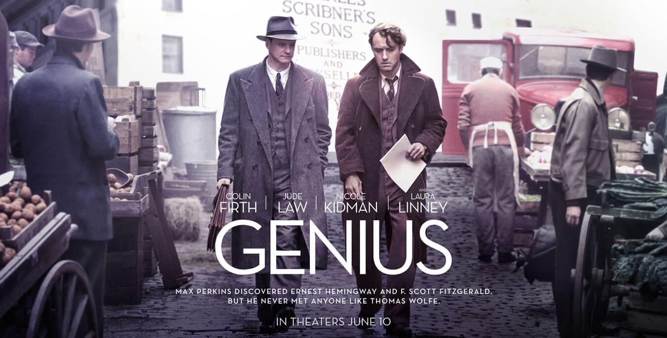 Reseña película GENIUS un film de jude-law-colin-farell