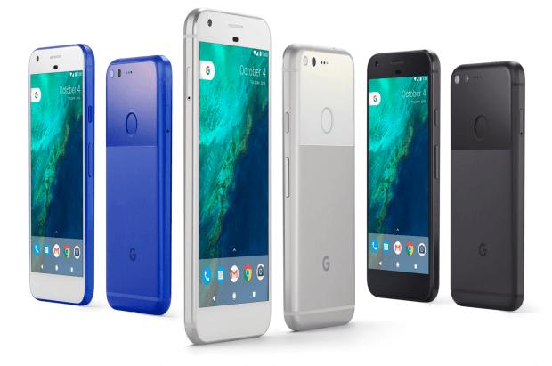 Google Píxel y sus 3 colores