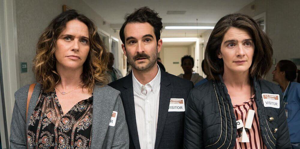 Sarah (Amy Landecker), Josh (Jay Duplass) y Ali (Gaby Hoffman)