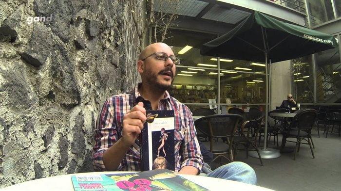"""Arturo Vallejo, autor de """"Última vez en Plutón""""."""