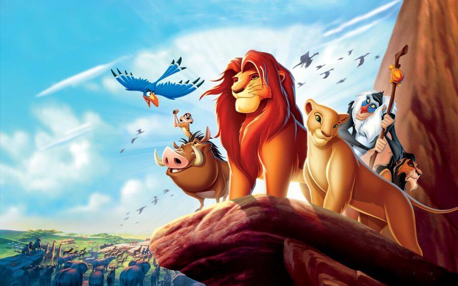 el rey leon película famosa disney