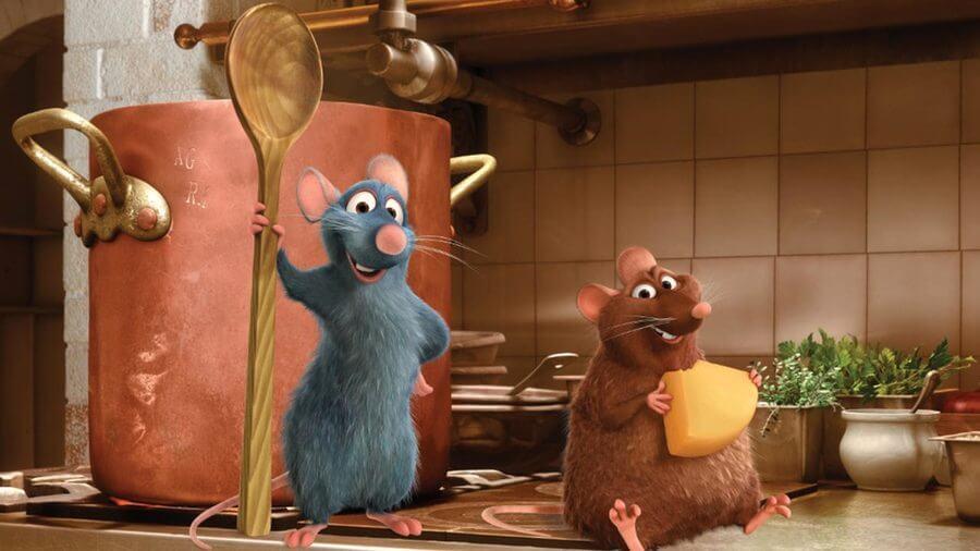 la película ratatouille