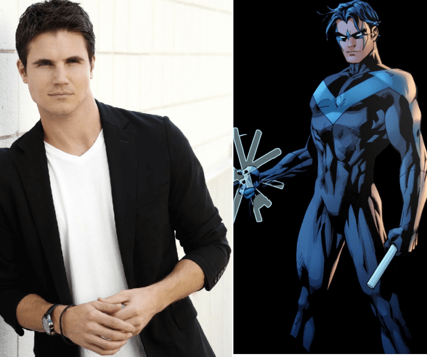 Robbie Amell Nightwing